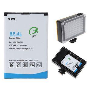 Image 3 - 2500mah BP 4L запасная литий ионная батарея для 96/112 светодиодный ной камеры видео свет