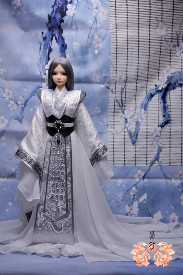 1/3 Bjd sd doll ancient costume clothing new arrival - uncle 1/4