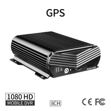 GPS 8CH 1080 AHD Hard Disk Car Mobile DVR VGA PC Playback Delayed Shutdown G-sensor I/O Truck Bus Boat Realtime Video Recorder цены