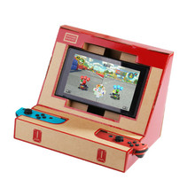 Foldable Stand for Nintend Switch NS Console Joy Controller Game Pad Joystick DIY Labo Cardboard Paper Arcade Bracket Simulator