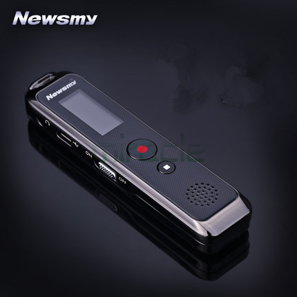 ФОТО Newsmy RV90 1.1 inches 16G Voice recorder, professional mini hd long distance noise reduction Steel metal shell recorder