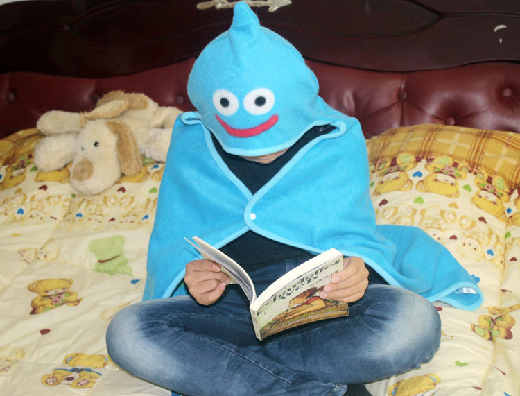 Slime Winter Variety Blanket cartoon children blanket wrapped being lazy blanket sleeve shawl cloak cape house scarves