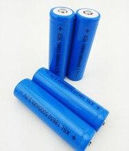 18650 3.7 V 5000mA batterie Torcia Luce HA CONDOTTO LA luce della batteria al litio Ricaricabile batteria + Punta capacità di 2200 mah