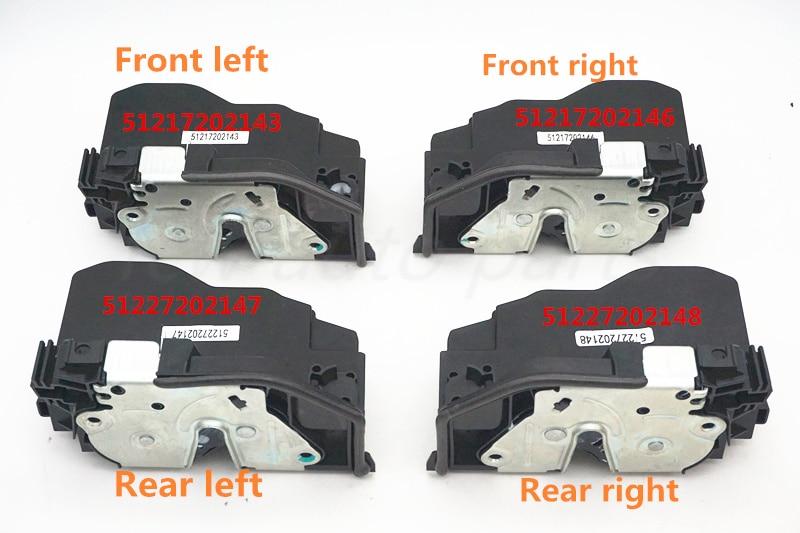 fcw fast shipping Door Lock Latch Actuator For BMW X6 E60 E70 E90 OEM 51217202143 51217202146 51227202147 51227202148
