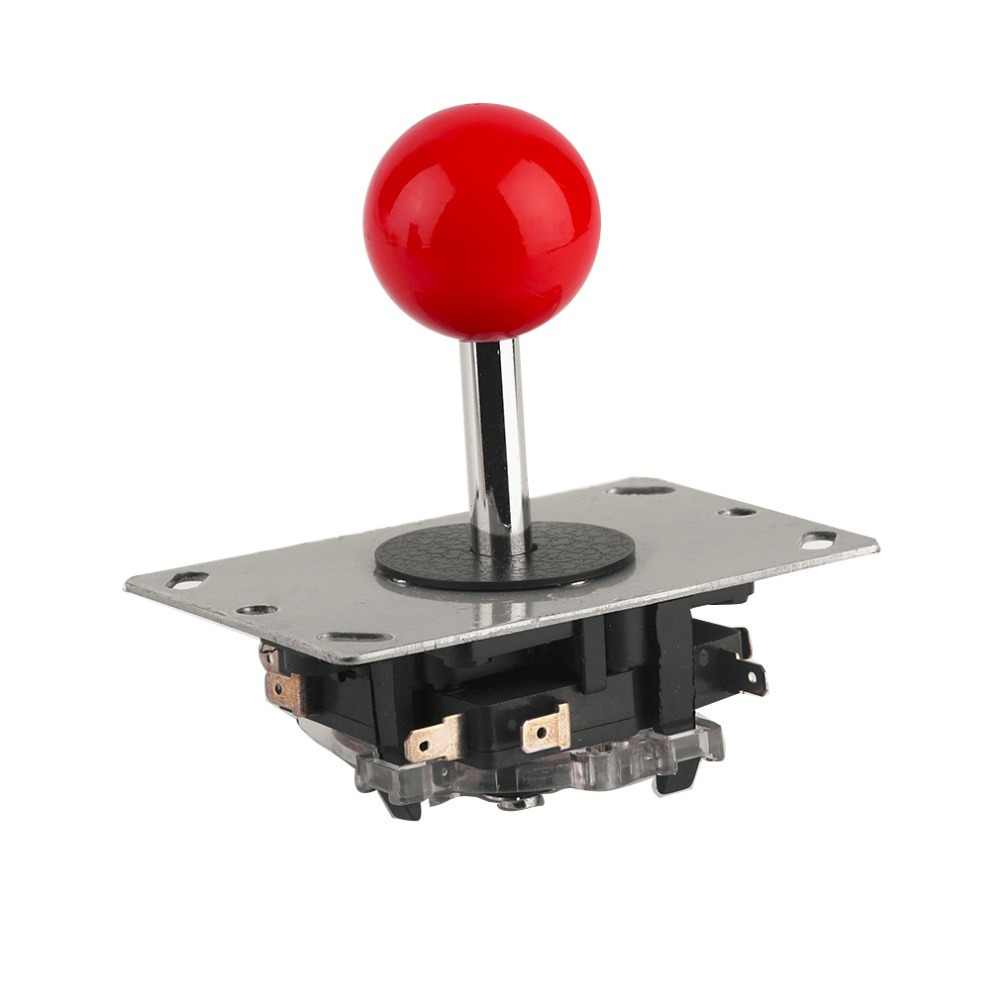 Arcade joystick DIY Joystick Red Ball 4/8 Way Joystick Fighting Stick Parts for Game Arcade Very rugged construction