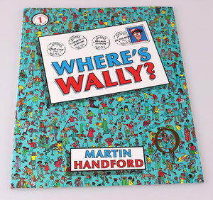 Image 3 - 6 pcs big size A4 English books Where Wheres Wally : Children Observation Vision Will Find Jigsaw gift for kids Childhood
