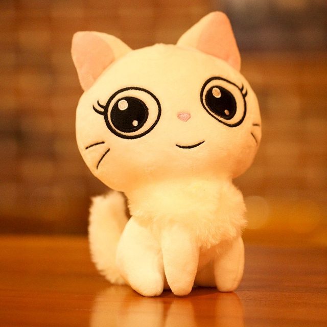 Image of: Mermaid Cat Plush Toys Stuffed Animal Doll Animal Pillow Toy Pusheen Cat For Kid Kawaii Cute Cushion Brinquedos Gift Claires Cat Plush Toys Stuffed Animal Doll Animal Pillow Toy Pusheen Cat For