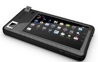 Устойчивость к погодным изменениям армии 7 дюймов IP65 андроид считыватель отпечатков пальцев/HF RFID/2D надежный сканер штрихкода планшетного