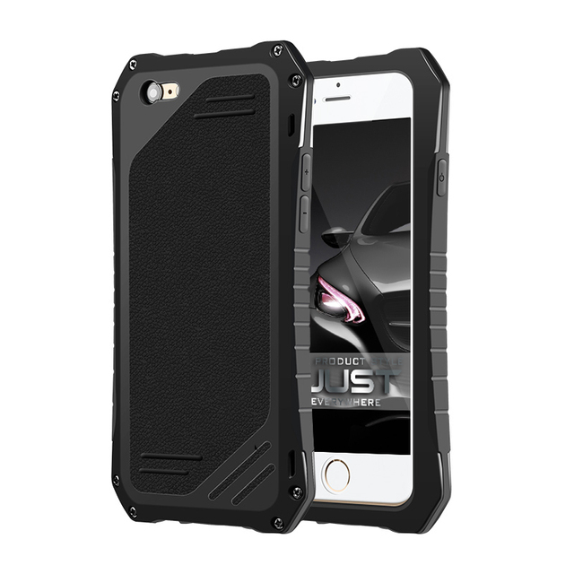 R-Just i6 Full Body Protect Case For iPhone 6 6s 6 plus 6s plus Aluminum Shockproof Waterproof Phone Cover case