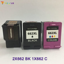 3PCS Vilaxh compatible 662 662xl Ink Cartridge replacement For HP x lDeskjet 1015 1515 2515 2545 2645 3515 3545 4645 Printer