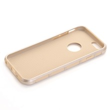 Silicone Rubber Hybrid Rugged PC Slim Skin Hard Back Phone Cases+Screen Protector For iPhone 6 6S 4.7″