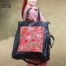 Nueva bandolera mensajero de lujo para chica, bolsos de mano Grandes Vintage con flores de primavera y verano para novia