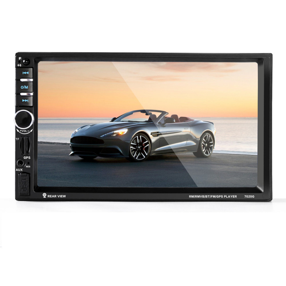 Universal 7 Car DVD Video Player Bluetooth CD Mp4 Mp5 Player Touch Screen Car Gps Tracke ...