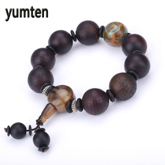 Natural Agates Onyx Stone Beads Bracelet Bracelets Mens Energy Aquatic Agate Jewelry