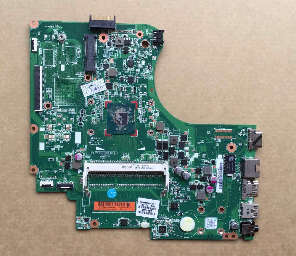 Free Shipping Original 753100-501 Laptop Motherboard for HP 15-D 250 G2 Notebook Mainboard 753100-001 N2820 free shipping original 753100 501 laptop motherboard for hp 15 d 250 g2 notebook mainboard 753100 001 n2820