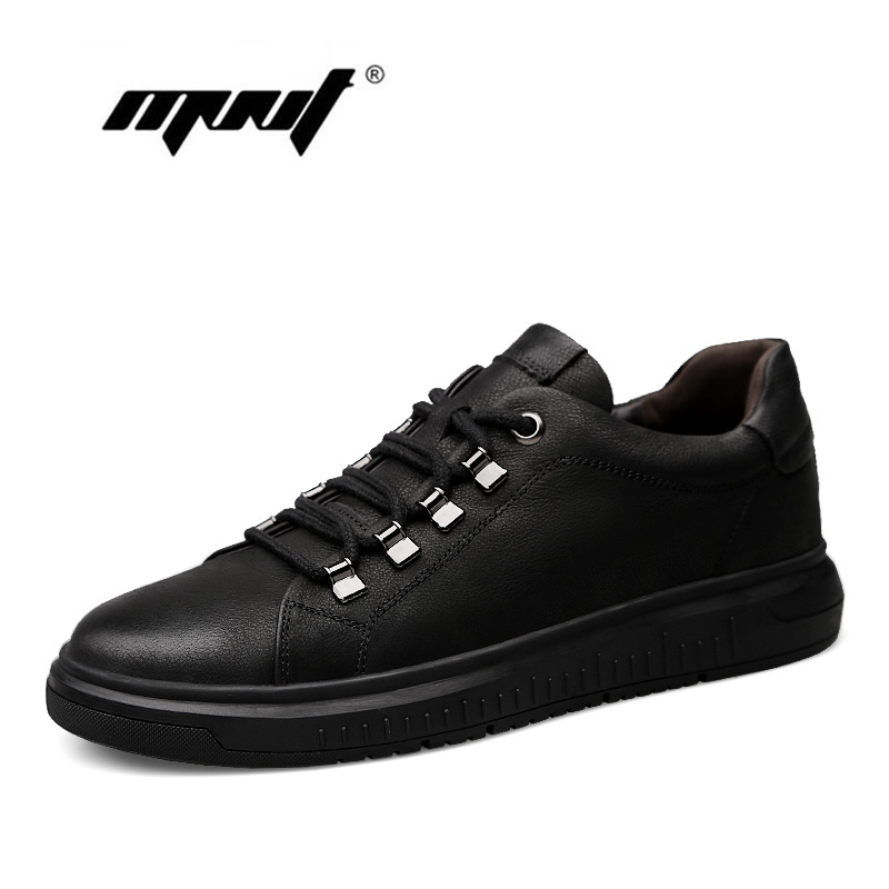 Fashion men shoes two style height increasing casual shoes genuine leather shoes men lace up flats mocasines hombre