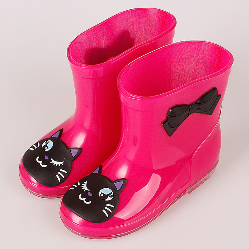 ActhInK-New-Design-Kids-Cartoon-Rainboots-Baby-Girls-Antiskid-Wellies-with-Cotton-Velvet-Boys-Autumn-Winter-Warm-Rain-BootsS009-3