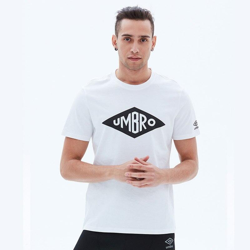 Umbro Men's Summer Short Sleeved Shirt T-shirt Breathable Jersey Short Sleeve T Shirt Sports Tops Tees UI001AP2503