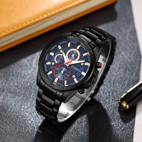 Curren 8275 new 2017 top brand luxury Watch Men relogio masculino quartz watch fashion casual alloy wristwatches 2