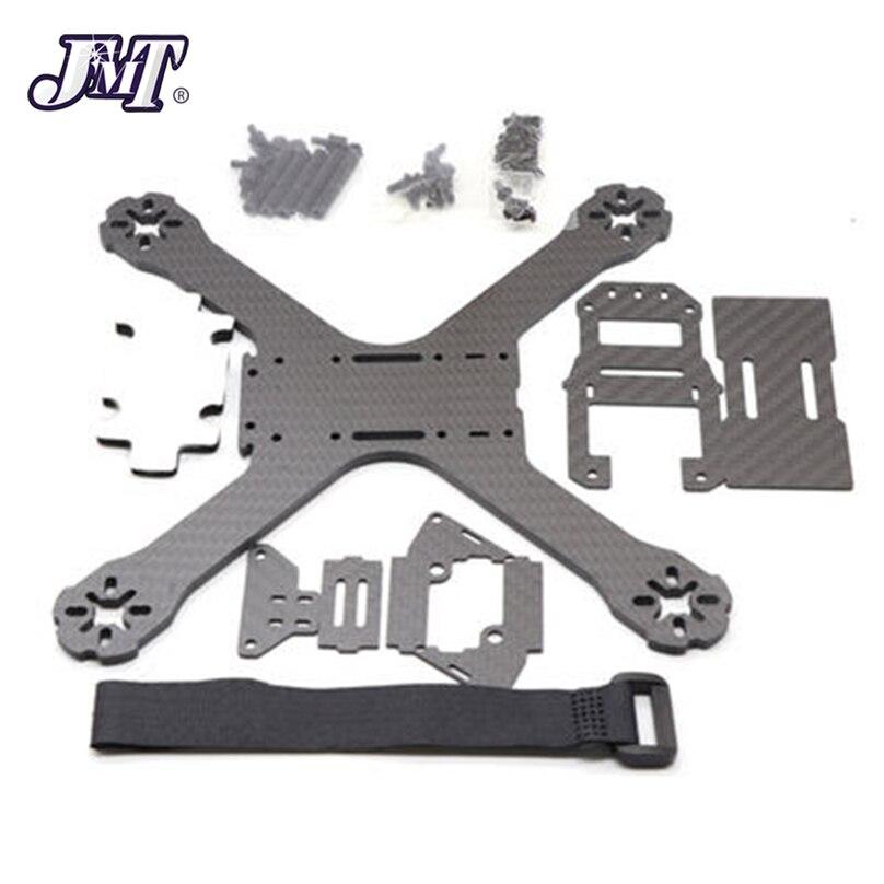 JMT  210mm Carbon Fiber Frame Kit With PDB Board X Type Frame for FPV
