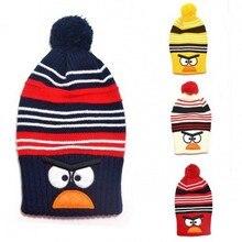baby animal hats Lovely benaies Child winter knitted hat Bird design Warm long cap baby hat