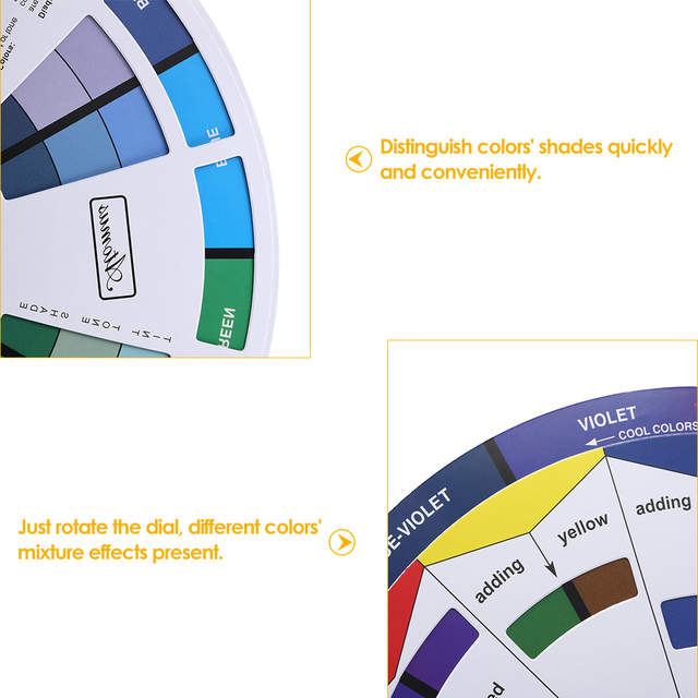 Online Shop Tattoo Ink Color Wheel Chart Tattoo Micro Pigment Mix