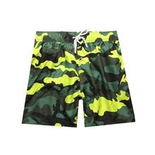 Camouflage Quick Dry Board Shorts Summer Surf Beach Shorts Sport Swimwear Boardshorts
