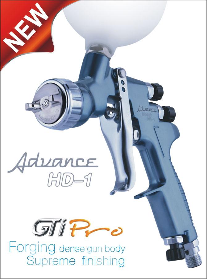 GTI PRO HD-1 spray gun devilbiss gti pro base купить детали