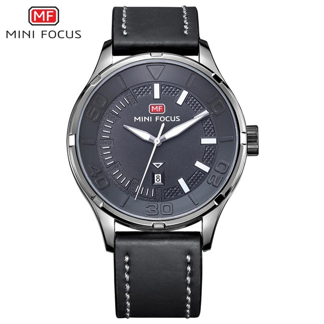 MINI FOCUS Fashion Brand Luxury Men Watches Male Quartz Sport Military Army Wrist Watch Men Clock reloj hombre relogio masculino jedir reloj hombre army quartz watch men brand luxury black leather mens watches fashion casual sport male clock men wristwatch