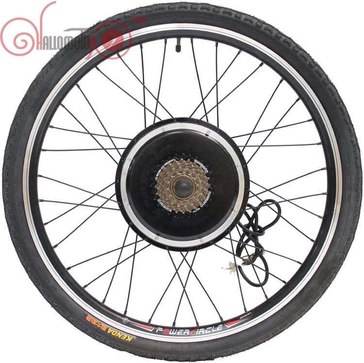 ConhisMotor vélo électrique 36 V/48 V 1000 W 20inch-700c roue arrière moteur sans balais sans moyeu