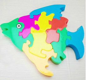 Children's Intelligence Development Toys Jigsaw Puzzle Gift Toy Safety Environmental Unisex Plastic Hot Sale Educational Gifts