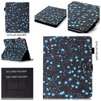PU Leather And Tablet PC Stand Cover Case Pad Pattern For Apple IPad 4 3 2