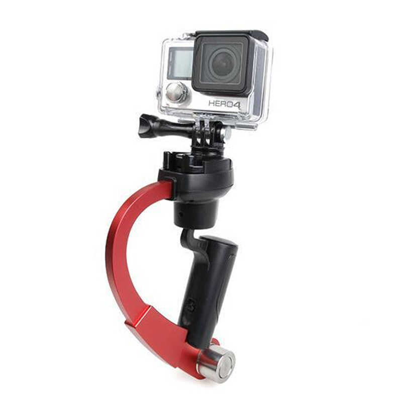 Image 3 - Mini Handheld Camera Stabilizer Video Steadicam Gimbal Suitable For GoPro Hero 7 6 5 SJcam SJ4000 Xiaomi Yi Action Camera-in Stabilizers from Consumer Electronics