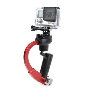 Image 3 - مصغرة حامل تثبيت الكاميرا الفيديو Steadicam Gimbal مناسبة ل GoPro بطل 7 6 5 SJcam SJ4000 Xiaomi يي عمل كاميرا