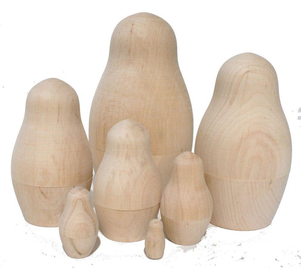 Plain Wooden Russian DollsBaby Dolls Ideas