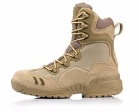 Outdoor Winter army Military Tactical Special Force Leather men s shoes breathable climbing hiking Boots Desert Combat Boats