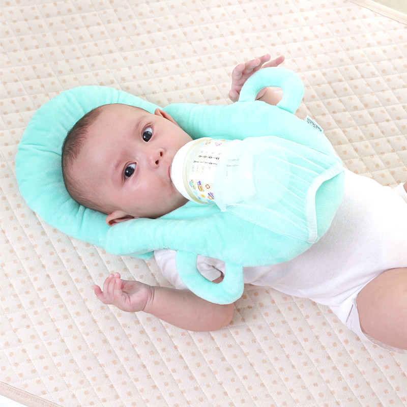Baby nursing pillow baby multifunctional nursing nursing pillow newborn anti-spit milk pillow baby feeding pillow deluxe edition of the baby child health pillow space memory pillow