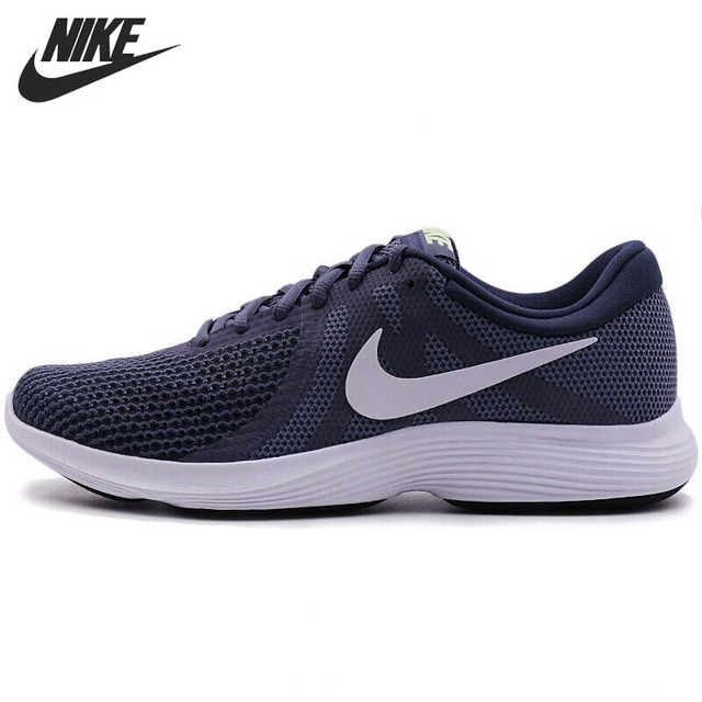 Original New Arrival 2018 NIKE Revolution 4 Men's Running Shoes Sneakers