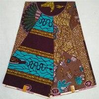 NAW2-11 Caliente la venta nuevo venir patrón Misterioso JAVA CERA 6 yardas/lot Envío Libre y precio barato Africano impresa tela de la cera