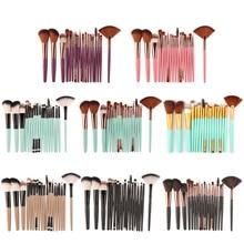 18Pcs Makeup Brush Set Tools Kit Power Foundation Blush Eyeshadow Eyeliner Lip Make up Brushes Tool Popular Style Cosmetic