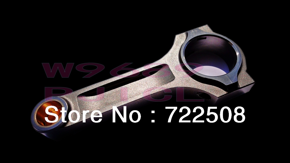 Connecting Rod for EVO 8 4g63 I Beam Conrod Con Rod Rods bielle fit ARP rod bolt 3/8 fre ...