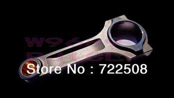 Korbowód dla EVO 8 4g63 ja wiązki Conrod Con pręt pręty bielle pasuje do ARP śruba prętowa 3 8 #8221 darmowa wysyłka tanie i dobre opinie 4340 Mitsubishi Mechanizm korbowy 4 cylinder MSMOST