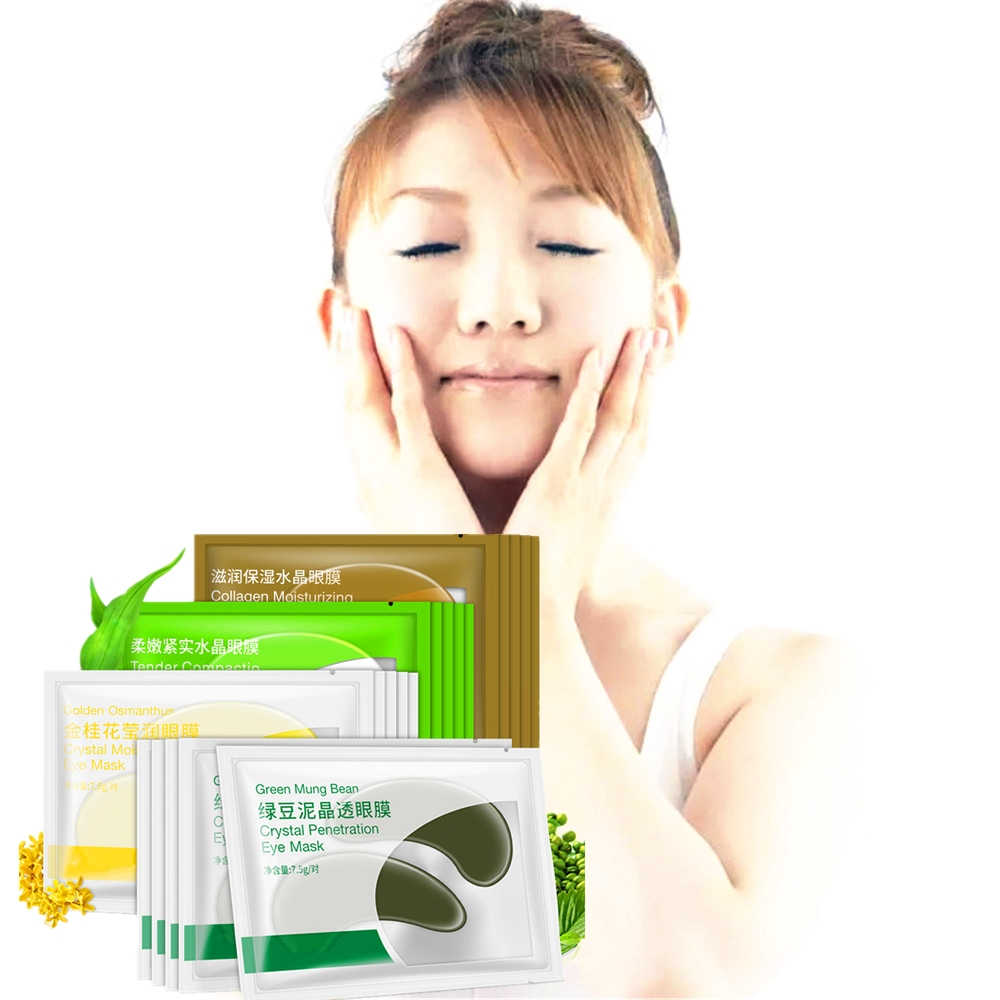 DISAAR Hyaluronic Acid Retinol Eye Mask VC Eye Patch Face Remove Dark  Circle 2pcs/Pack