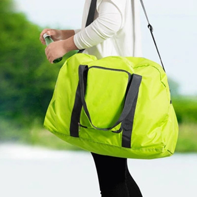 Tote Shoulder-Bag Gym-Bag Travel-Luggage Waterproof Outdoor Ultralight Nylon Pouch Foldable