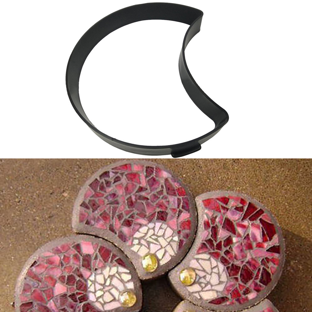 Image 2 - Path Maker Mold 2019top Paving Mold Driveway Patio Stepping Stone Pavement Paver Path Maker DIY g90529-in Paving Molds from Home & Garden
