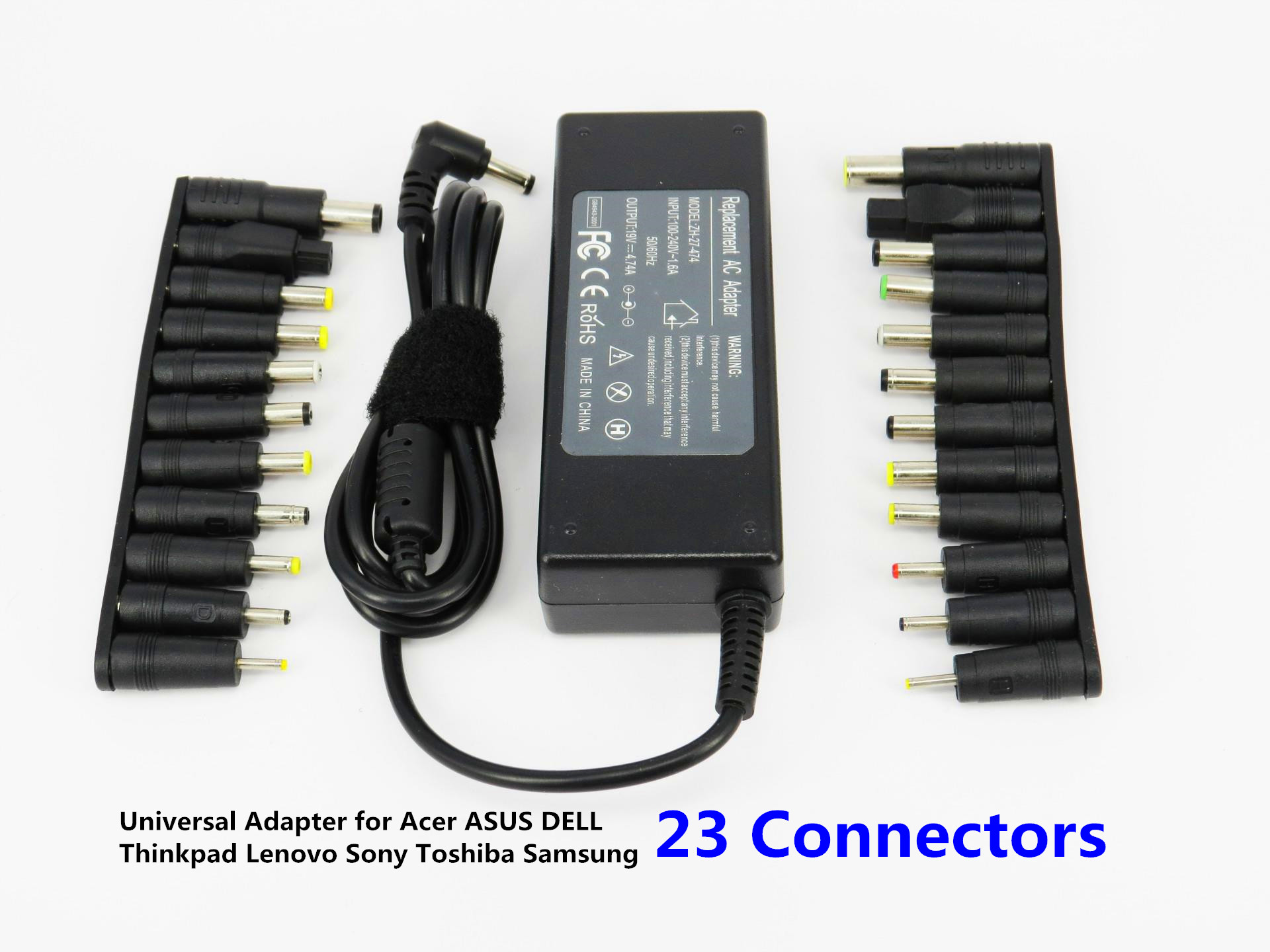 90W Laptop AC Universal Power Adapter Charger for Acer ASUS DELL Lenovo Toshiba Samsung 23 Connectors 19V 4.74A все цены