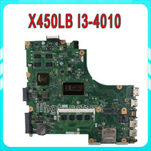 X450LB for ASUS Laptop motherboard X450LC REV2.2 On board I3-4010U GeForce GT740M fully tested & working