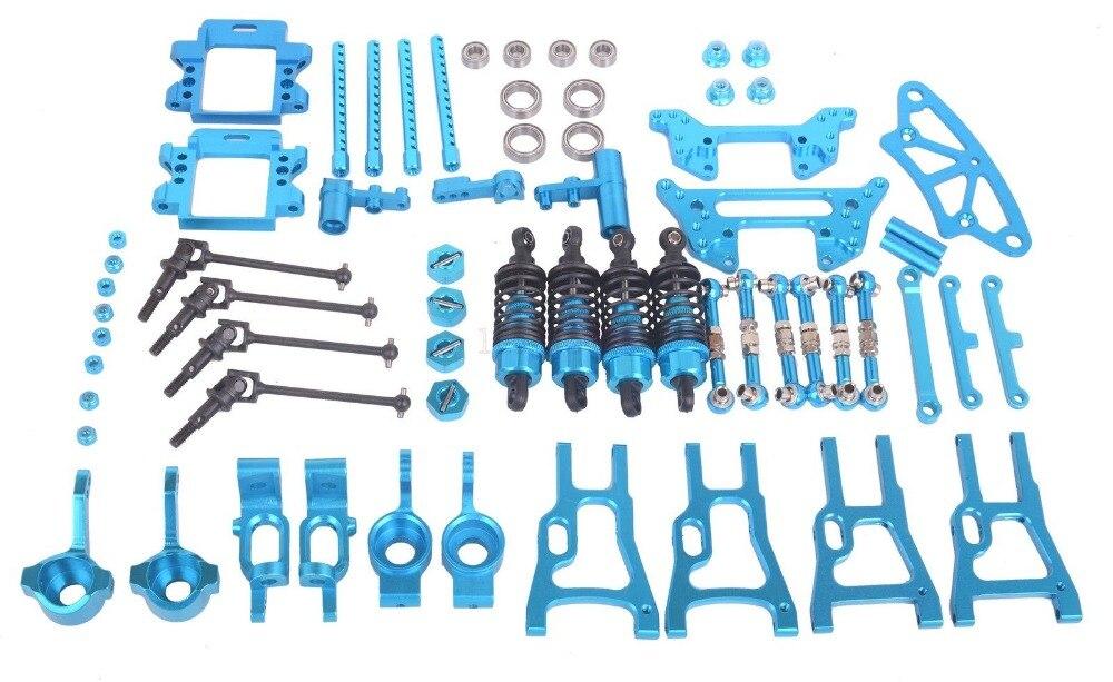 Upgrade Onderdelen Combineren Voor HSP RC 1:10 On Road & Drift auto Elektrische of Nitro Voor HSP 94101 94102 94123 102057 102017-in Onderdelen & accessoires van Speelgoed & Hobbies op  Groep 1