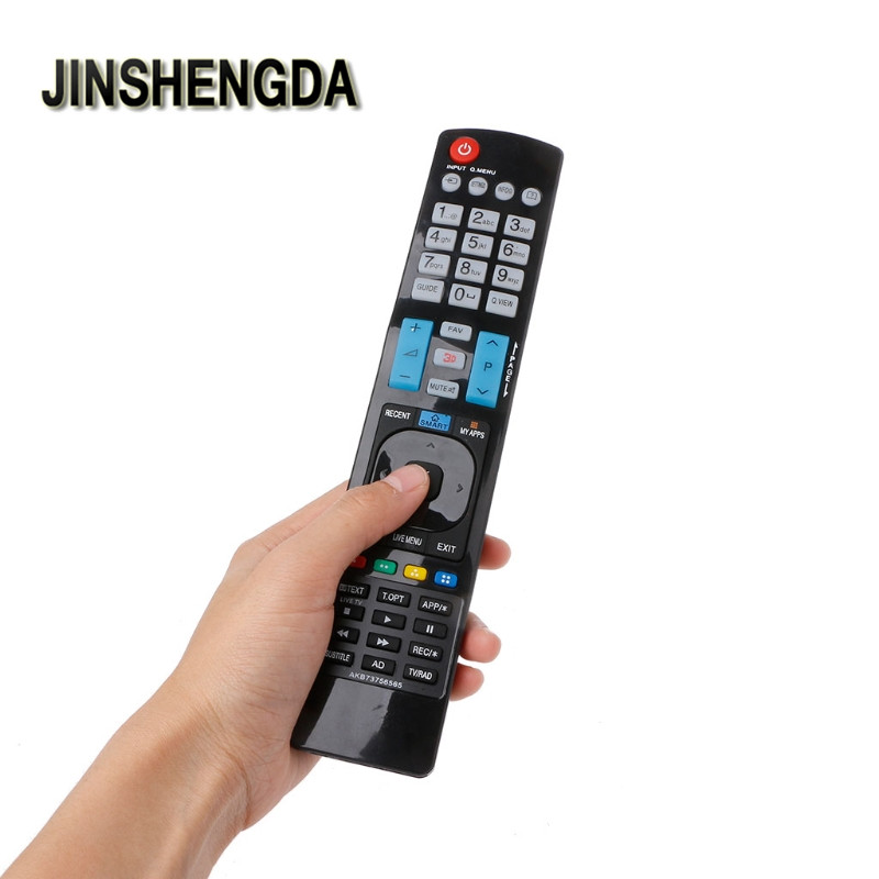 JINSHENGDA Universal Television Remote Control Replacement For LG AKB73756565 3D TV ...