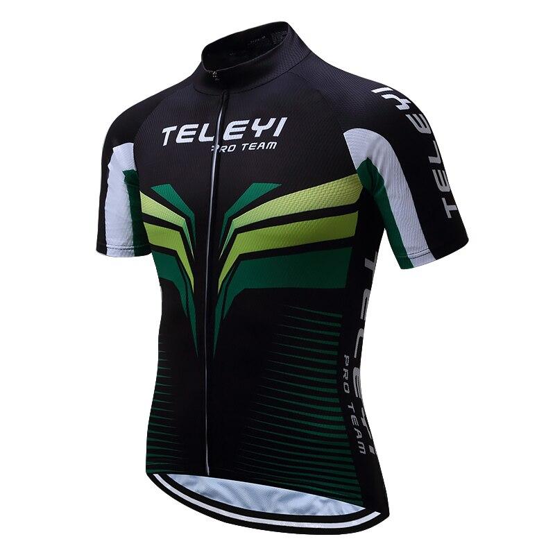 2017 hombres Ciclismo jersey rojo Ciclismo equipo jersey negro blanco desgaste de la bici de MTB Carretera bicicleta ropa ciclismo Ciclismo desgaste verano